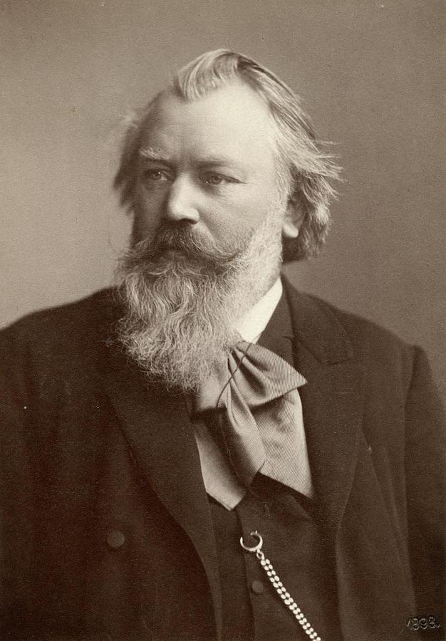 1893 Photograph - Johannes Brahms (1833-1897) by Granger