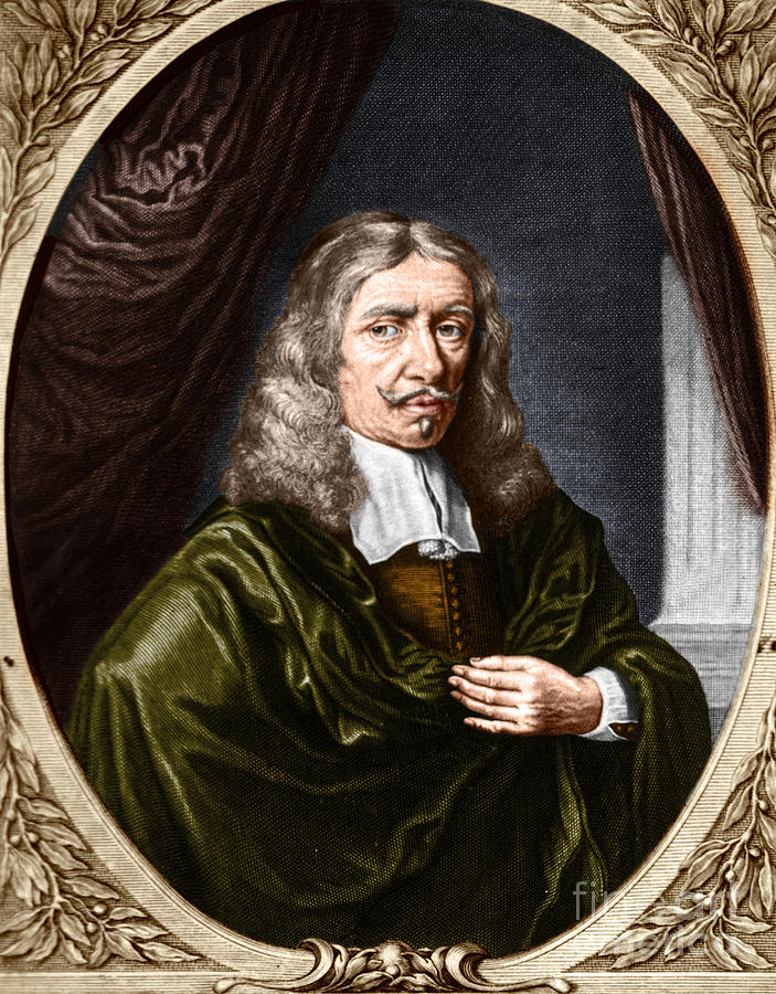 History Photograph - Johannes Hevelius, Polish Astronomer by Science Source