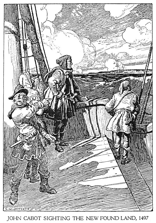 Age Of Discovery Drawing - John Cabot (1450-1498) by Granger