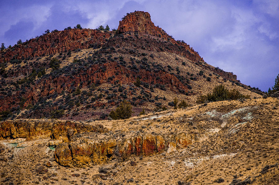 John Day Photograph - John Day Fossil Beds Nations Monuments by Shiela Kowing