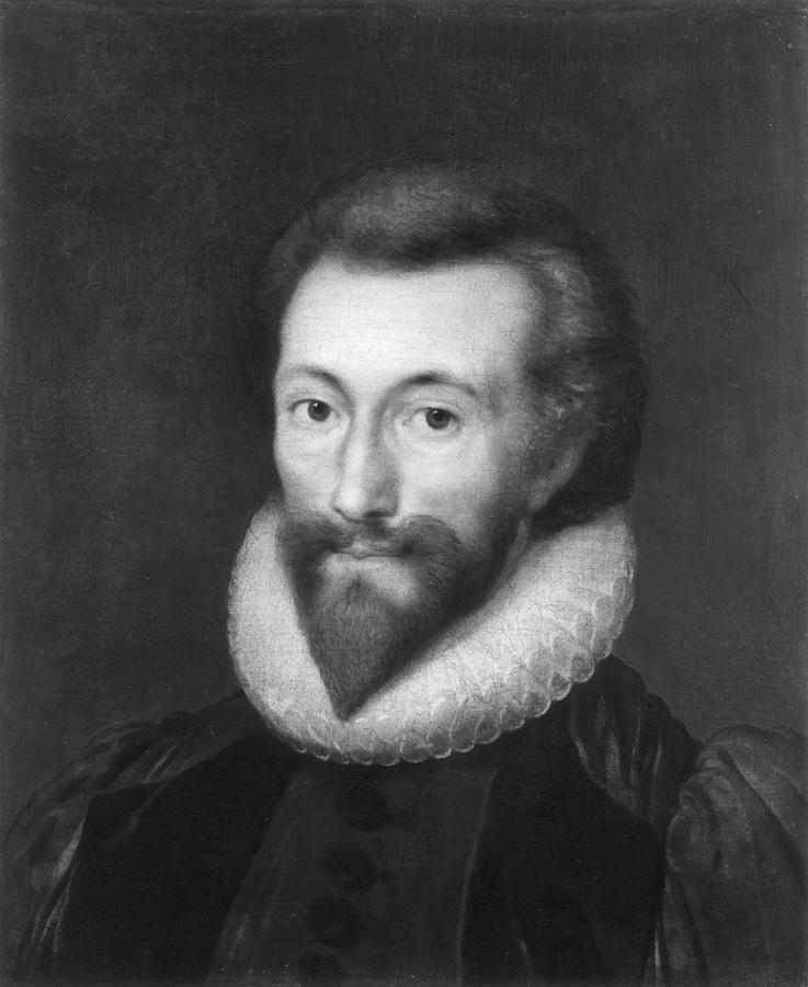 1616 Painting - John Donne (1572-1631) by Granger