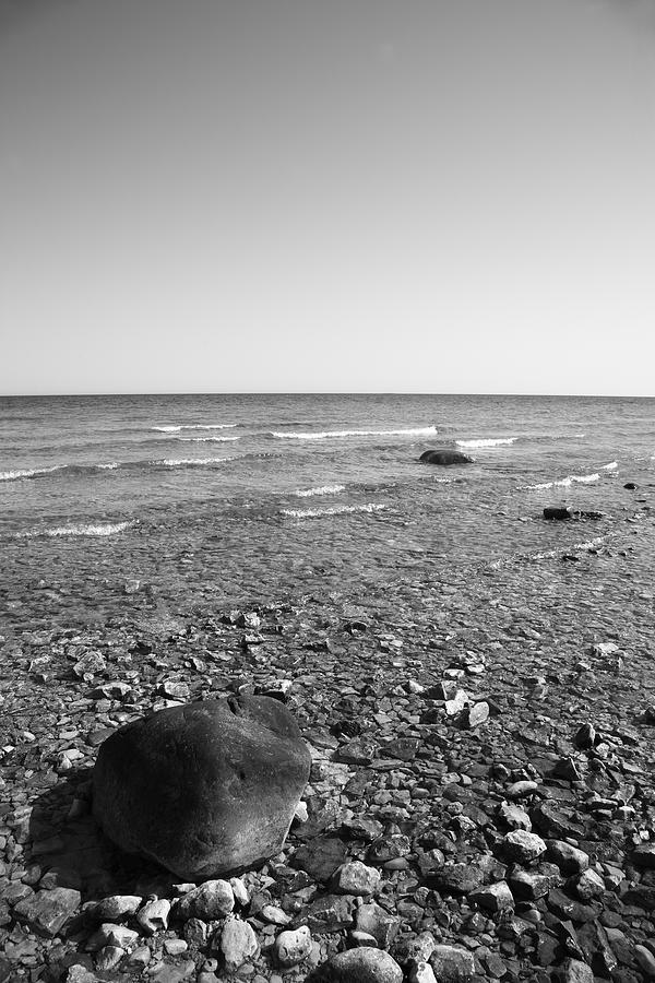 Attractions Photograph - Lake Huron by Frank Romeo