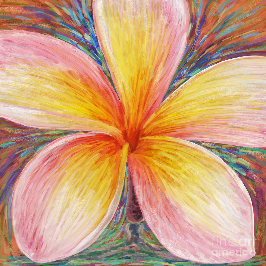 Aloha Painting - Leelawadee by Atiketta Sangasaeng