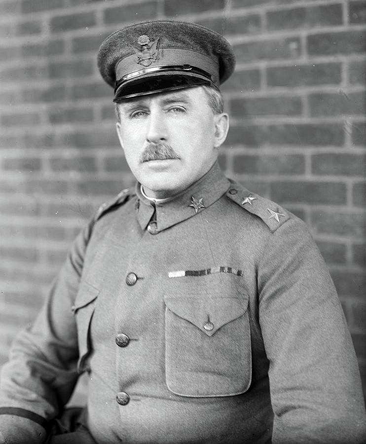 1910 Photograph - Leonard Wood (1860-1927) by Granger