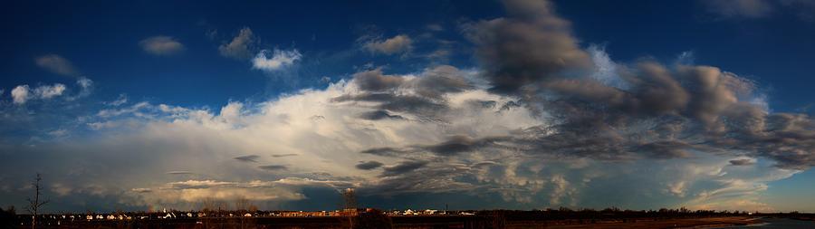 Nebraska Photograph - Let The Storm Season Begin by NebraskaSC