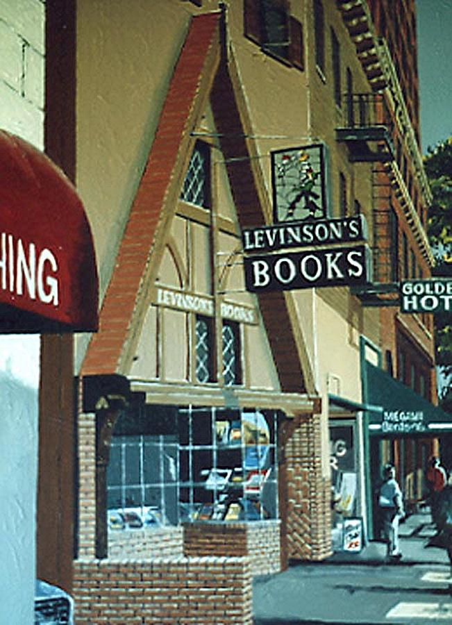 Sacramento Painting - Levinsons by Paul Guyer