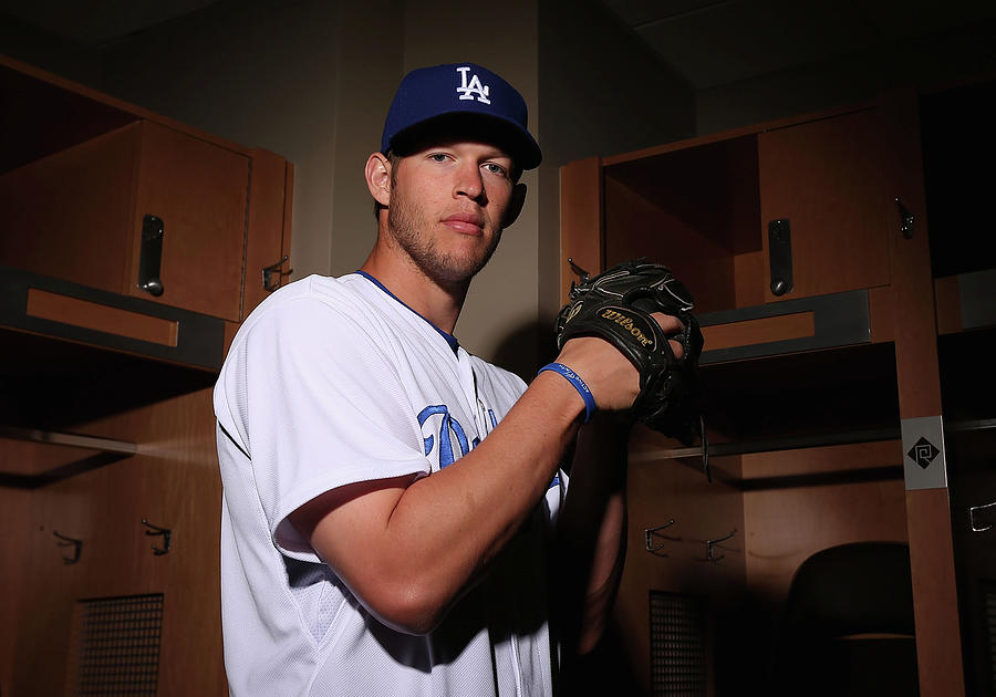 Los Angeles Dodgers Photo Day Photograph by Christian Petersen
