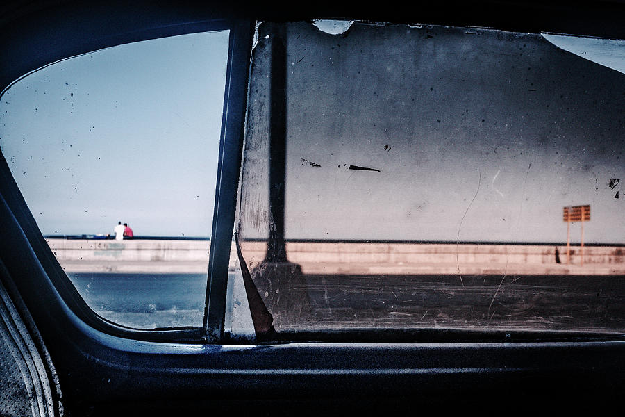 Havana Photograph - Malecon by Andreas Bauer