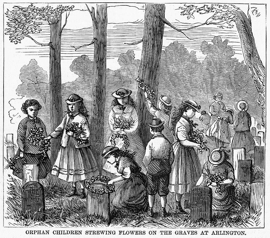 Image result for memorial day 1868
