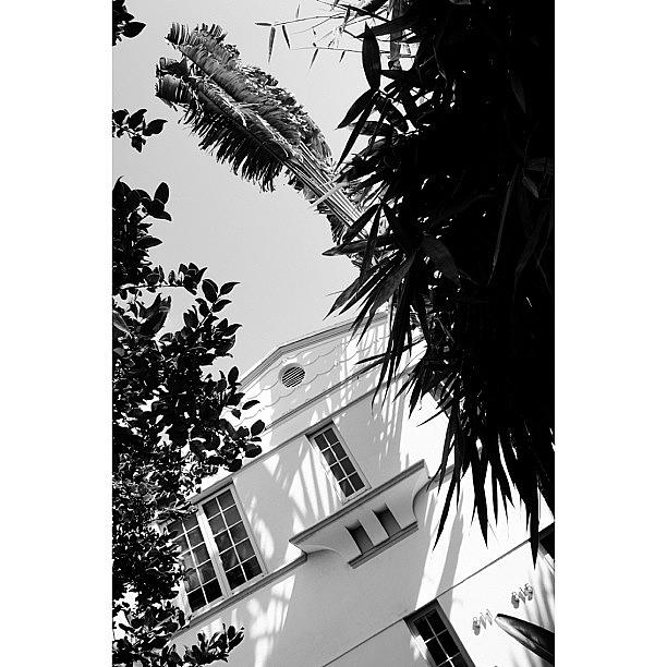 Habana Photograph - {miami Beachs Art Deco}  In 1979 by Joel Lopez