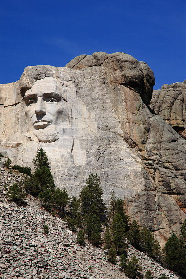Abe Photograph - Mount Rushmore by Frank Romeo
