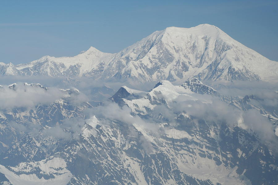 Scenic Photograph - Mt Mckinley by Dick Willis