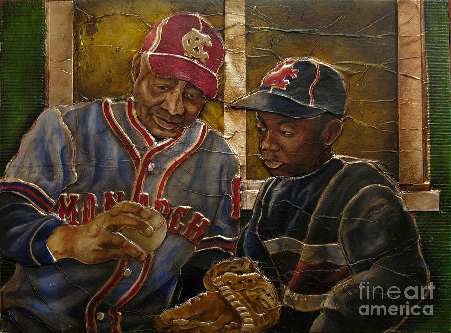 Negro League Story Painting By Anthony High