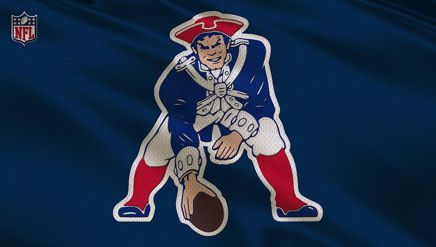 Patriots Photograph - New England Patriots Uniform by Joe Hamilton