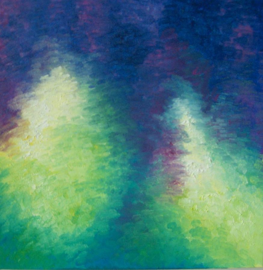 Northern Lights Painting - Northern Lights by Kimberly Davison