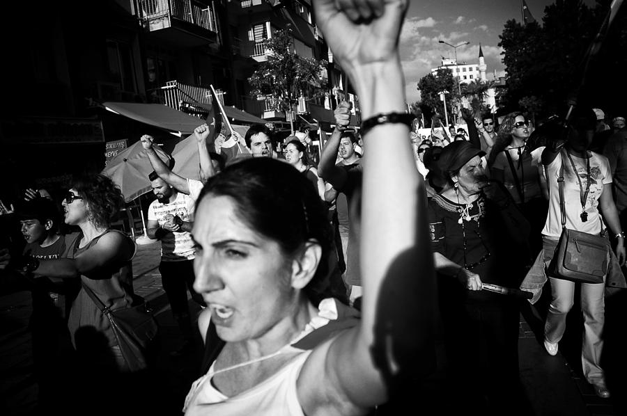 Occupy Gezi Photograph - Occupy Gezi - Protests Against Turkish Government by Ilker Goksen