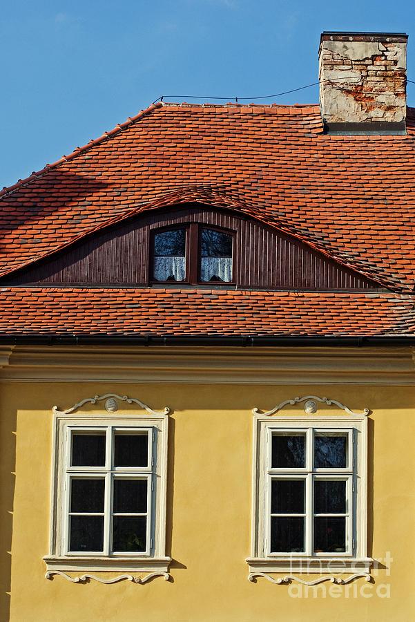 Architecture Photograph - Old House by Sarka Olehlova