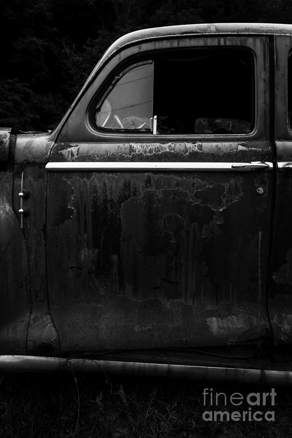 New Hampshire Photograph - Old Junker Car Open Edition by Edward Fielding