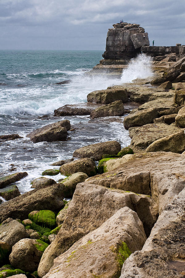 Granite Photograph - On The Rocks by Shirley Mitchell