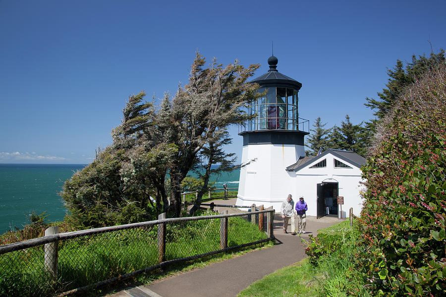 Architecture Photograph - Or, Oregon Coast, Cape Meares State by Jamie and Judy Wild