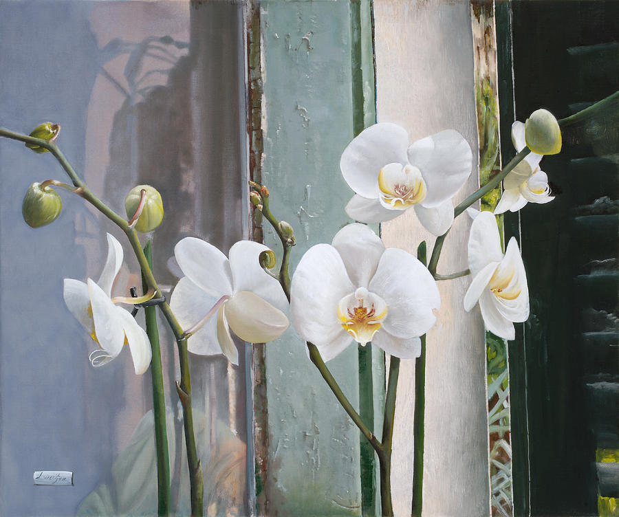 4 Orchidee Painting