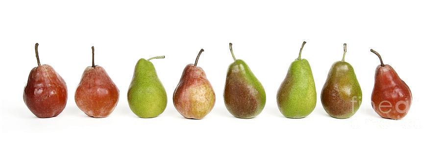 Food And Drink Photograph - Pears by Bernard Jaubert