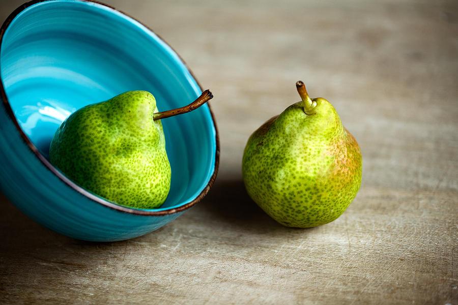 Pear Photograph - Pears by Nailia Schwarz