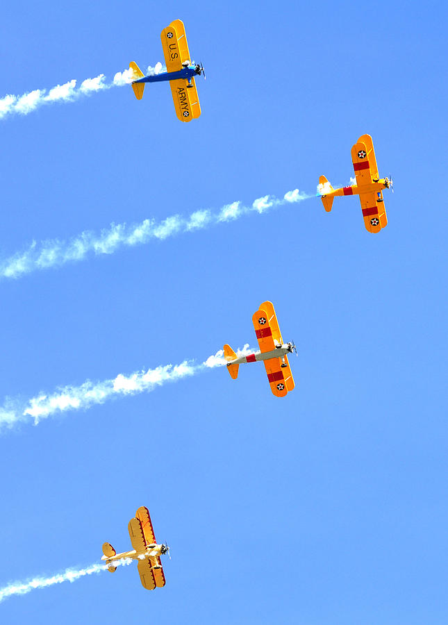 4 Planes 12934 Photograph
