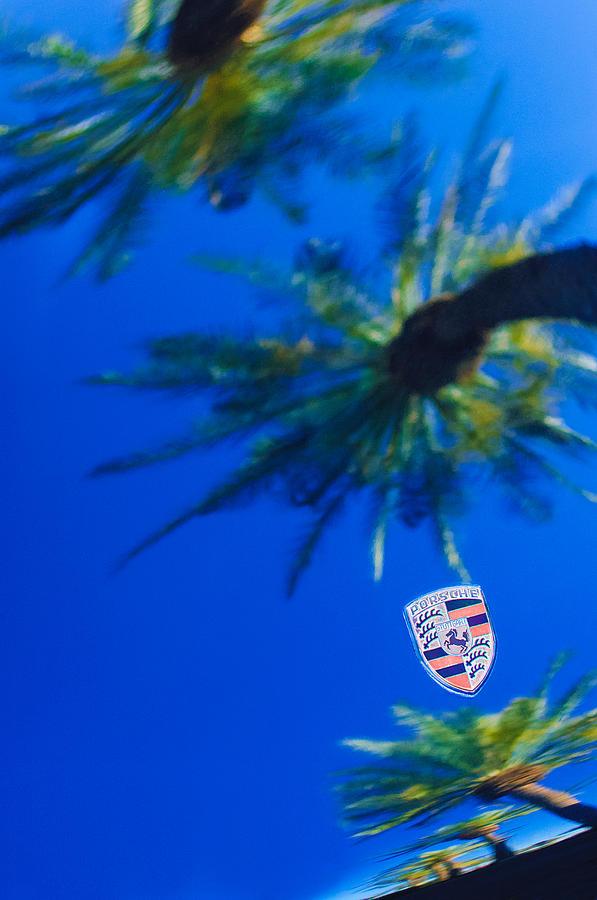 Porsche Emblem Photograph - Porsche Emblem by Jill Reger