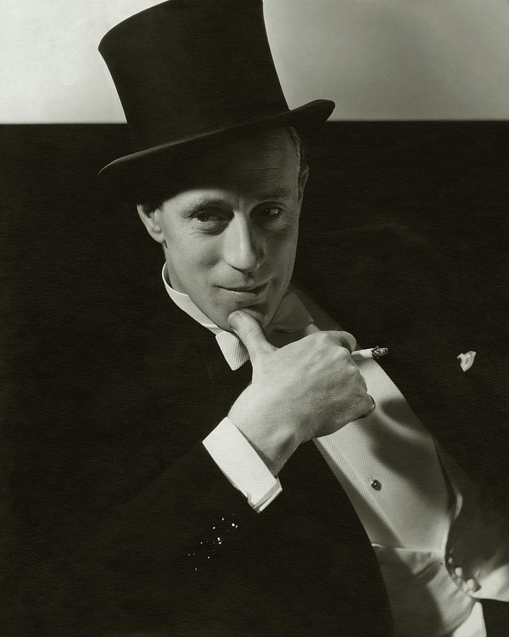 Actor Photograph - Portrait Of Leslie Howard by Edward Steichen