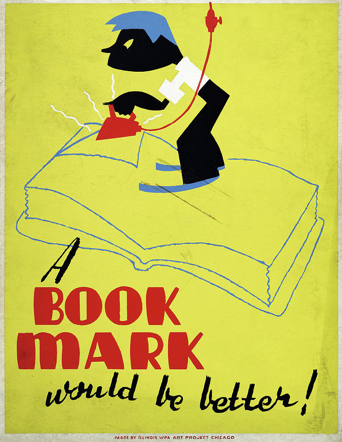 1938 Drawing - Poster Books, C1938 by Granger