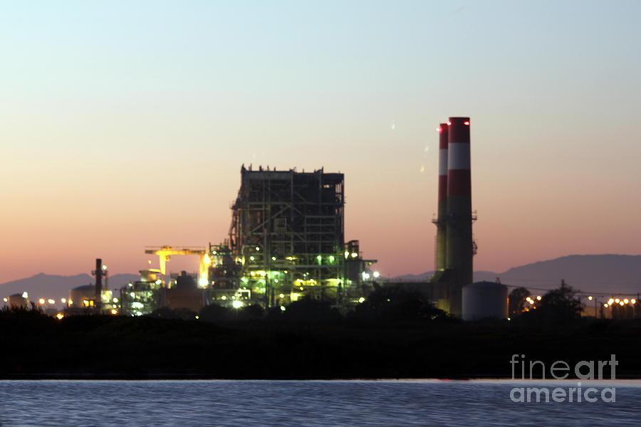 Industry Photograph - Power Station by Henrik Lehnerer