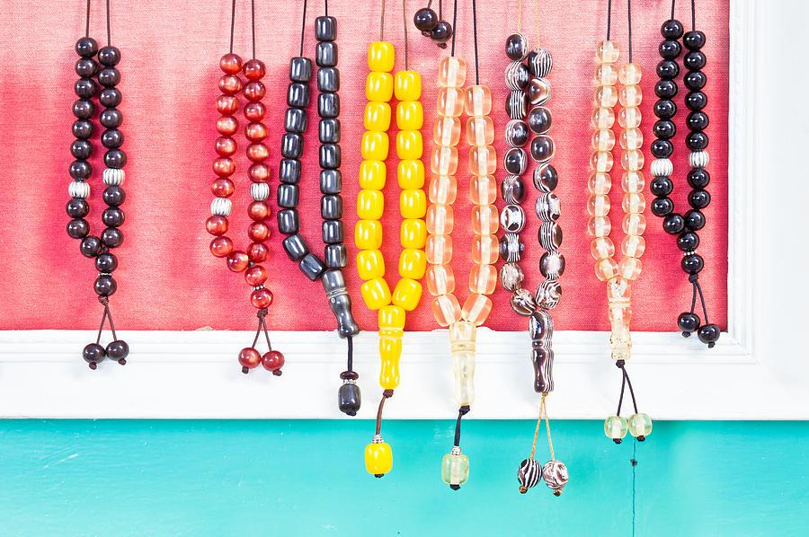 Accessory Photograph - Prayer Beads by Tom Gowanlock