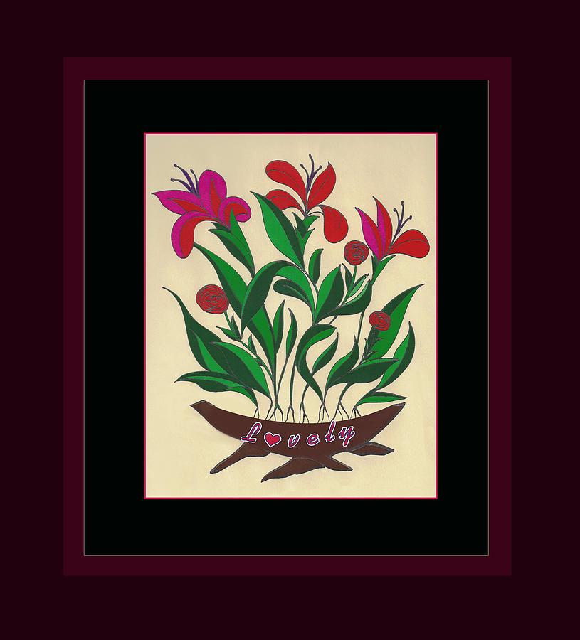 Flowers Painting - Sample 2 by Joe Greenidge
