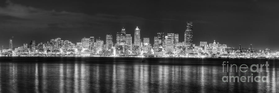 Seattle Photograph - Seattle Skyline by Twenty Two North Photography