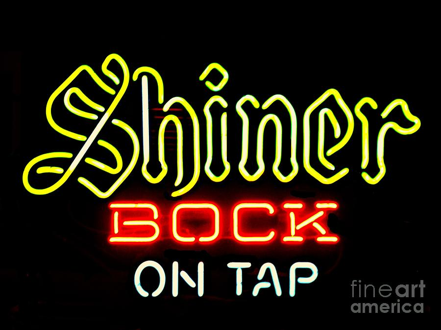 Shiner Bock On Tap Photograph by Kelly Awad