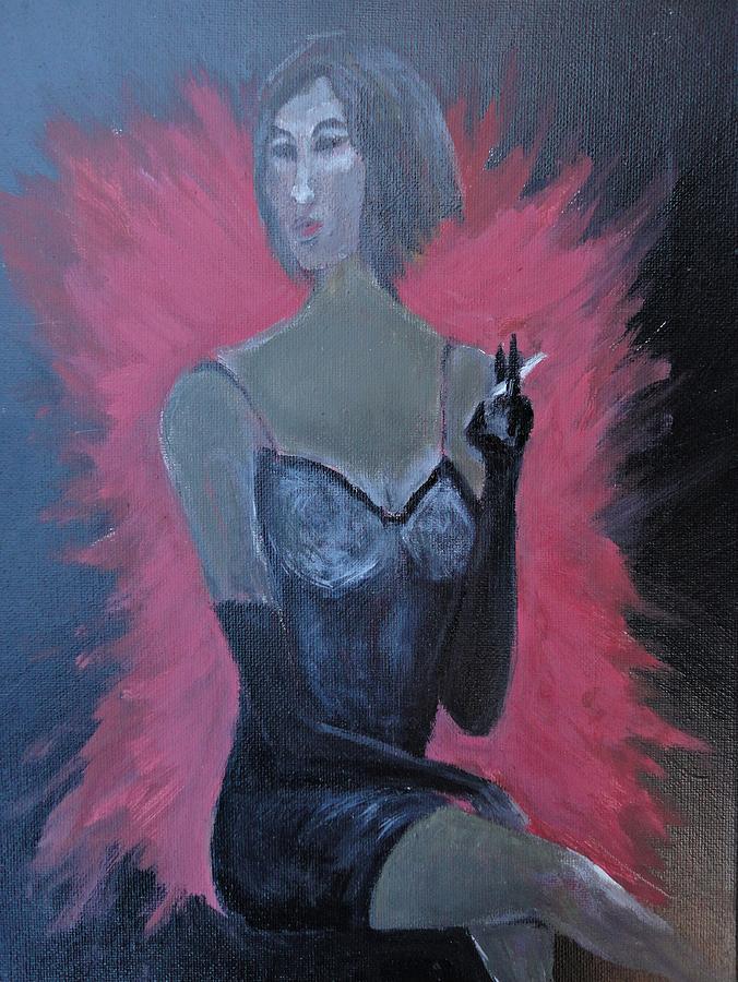 Wman Painting - Skyfall by Michael Braun