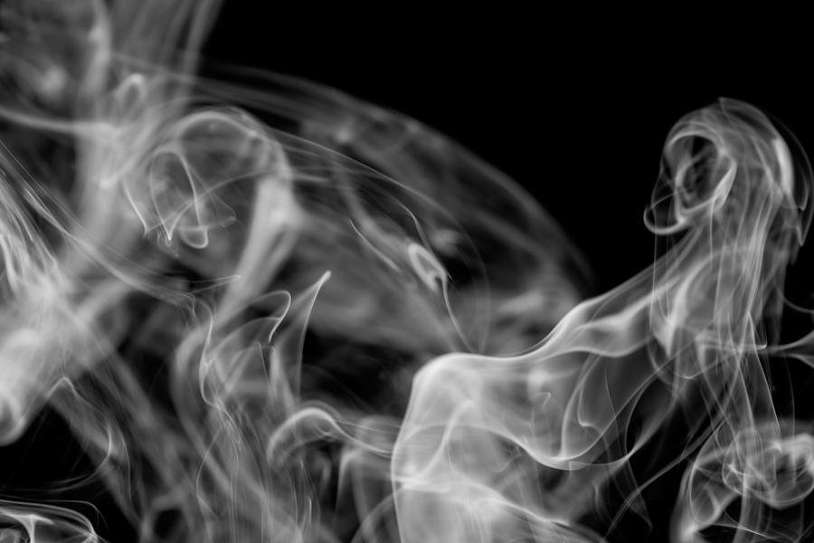 Smoke Photograph - Smoke by Marek Poplawski