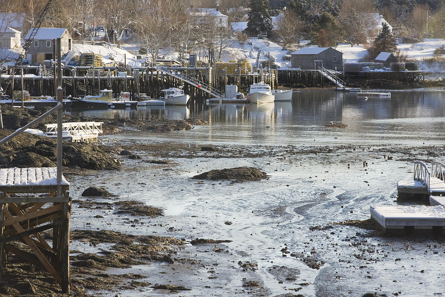 Maine Photograph - South Bristol On The Coast Of Maine by Keith Webber Jr
