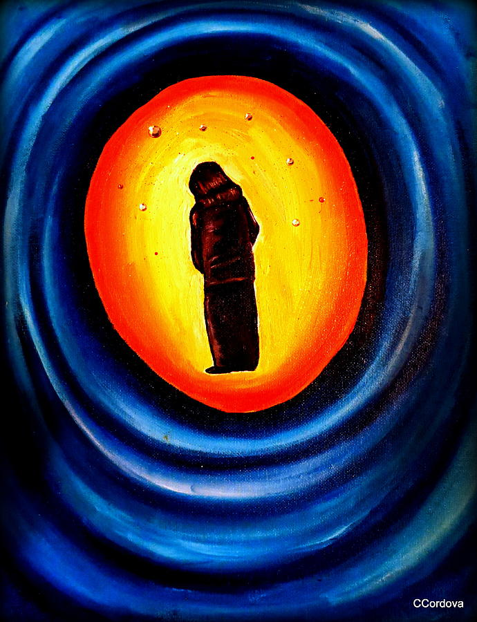 Spiritual Painting - Spiritual Journey-1 by Carmen Cordova