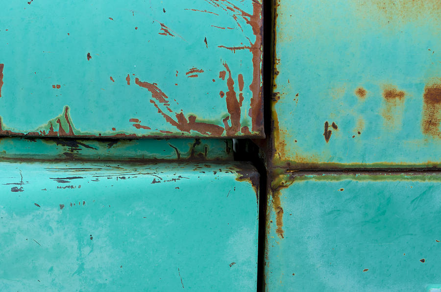 Abstract Photograph - 4 Square by Fran Riley