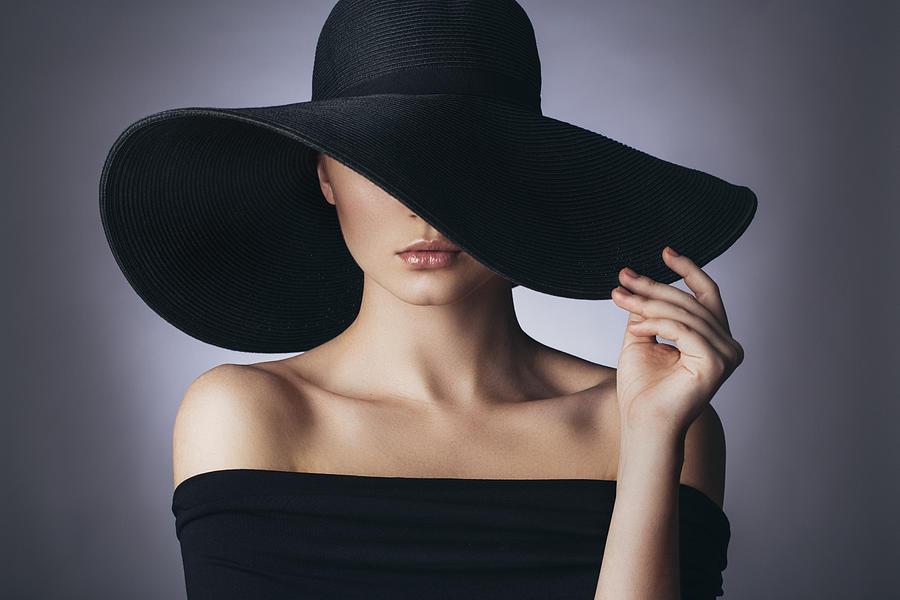 Studio Shot Of Young Beautiful Woman Photograph by CoffeeAndMilk