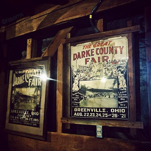 Antique Photograph - The Great Darke County Fair by Natasha Marco