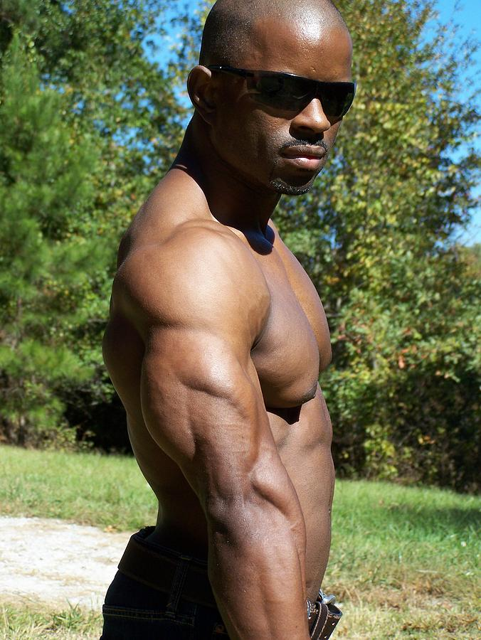 Triceps Photograph - The Poser by Jake Hartz