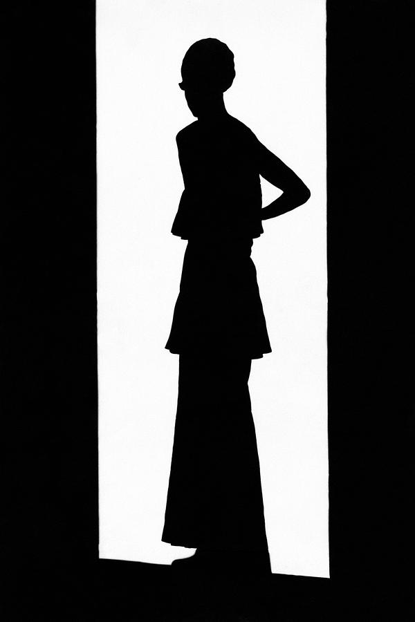 The Silhouette Of A Woman Photograph by  Barre
