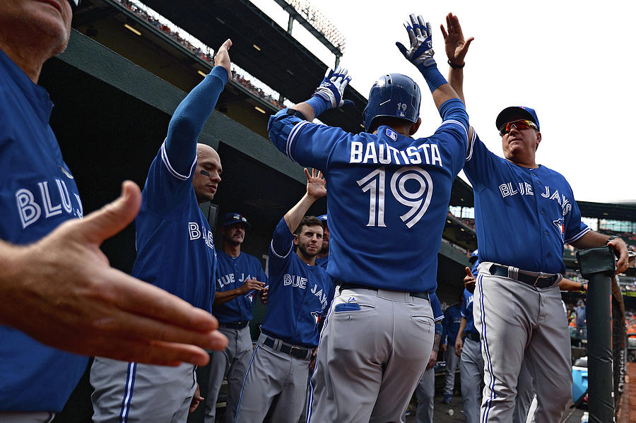 Toronto Blue Jays V Baltimore Orioles Photograph by Patrick Smith
