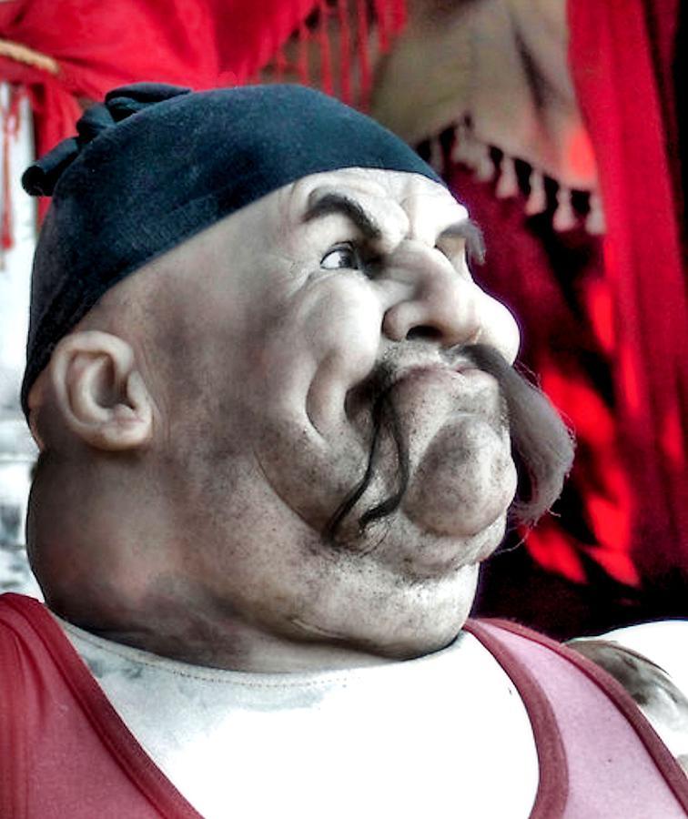 Mannequin Photograph - Tough Guy by James Stough
