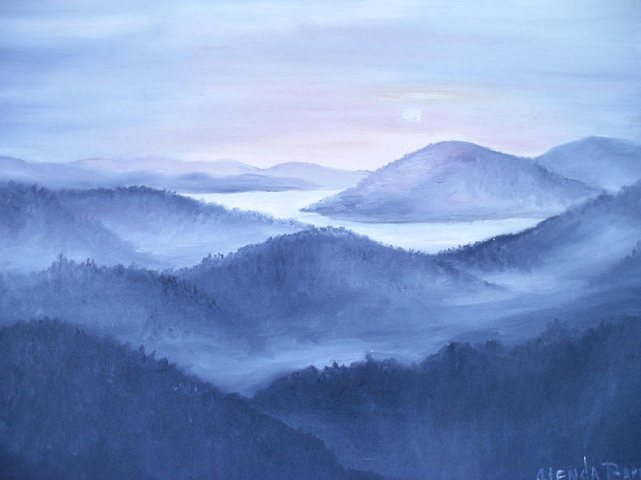 Original Painting - Tranquility by Glenda Barrett