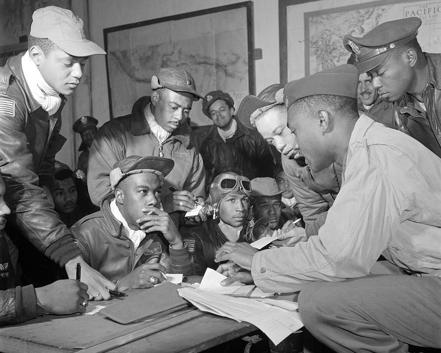 Classic Photograph - Tuskegee Airmen by Retro Images Archive