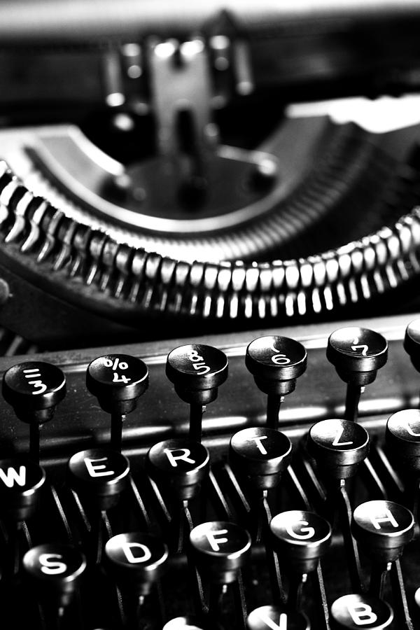 Schreibmaschinentasten Photograph - Typewriter by Falko Follert